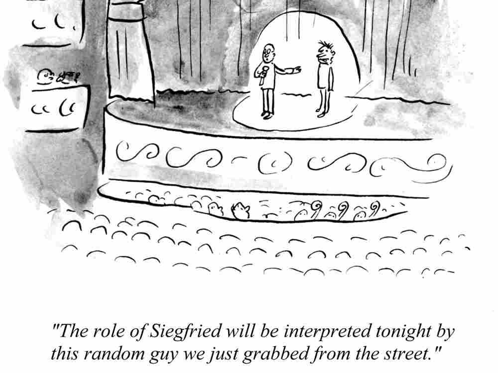 Siegfried off the street
