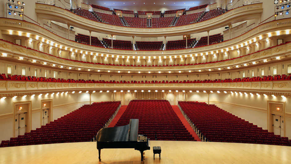 How Do You Get To Carnegie Hall? Answer: A 'Big Break'