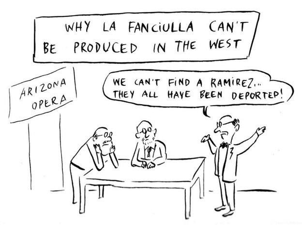Cartoon Fanciulla