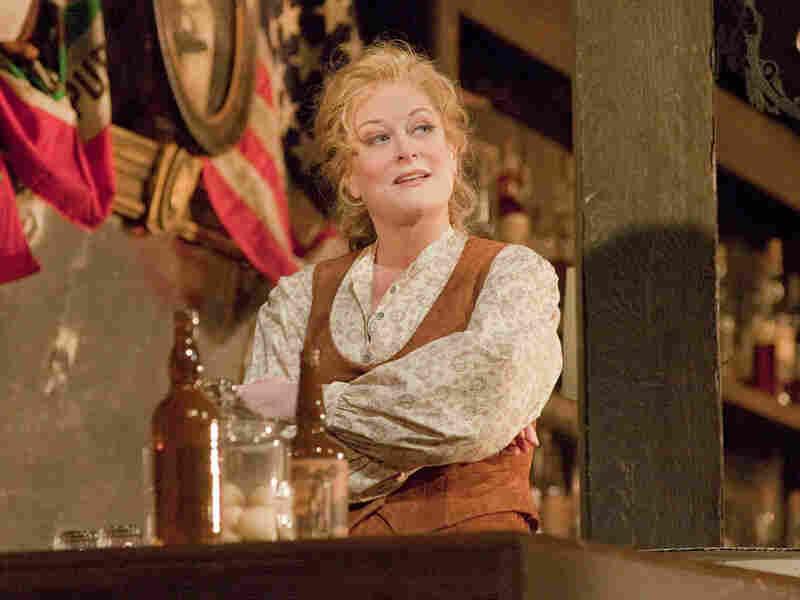 Deborah Voigt stars in the Met's new La Fanciulla del West.