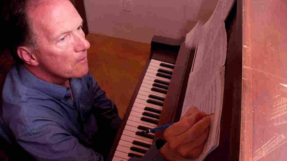 Composer Robert Kyr at the Monastery of Christ in the Desert