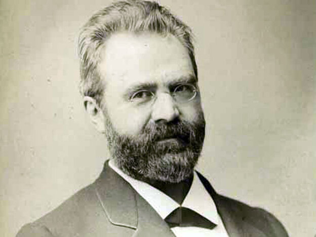 William Steinway, photographed in 1882