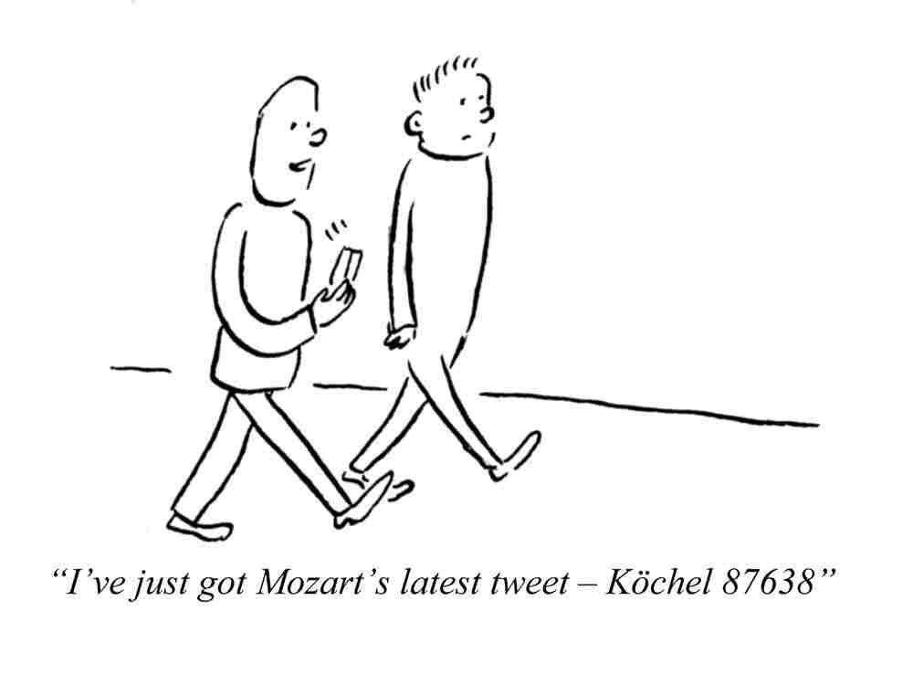 Mozart's Tweet