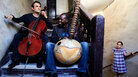 Cellist Cellist Vincent Segal and kora player Ballake Sissoko