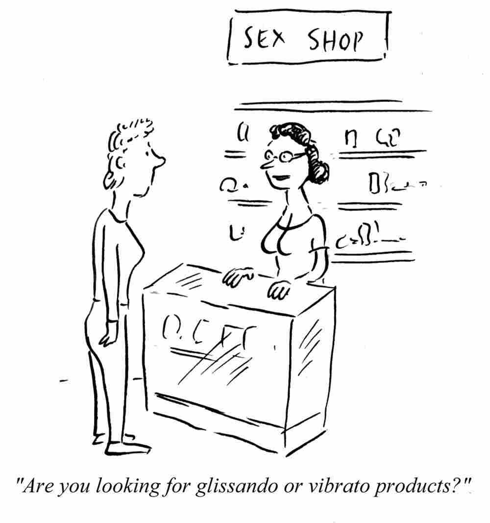 Glissando or Vibrato?