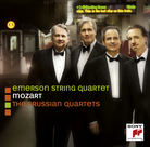 Cover for Mozart: The Prussian Quartets