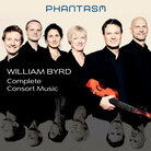 Cover for William Byrd: Complete Consort Music