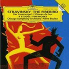 Cover for Stravinsky: The Firebird; Fantaisie for Orchestra, Op.4; Four Studies