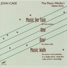 Cover for Cage:The Piano Works I