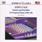 Cover for Cage: Sonatas and Interludes for Prepared Piano