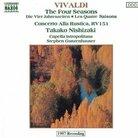 Cover for Vivaldi: The Four Seasons; Concerto alla rustica