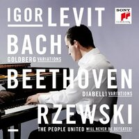 Cover for Bach, Beethoven, Rzewski