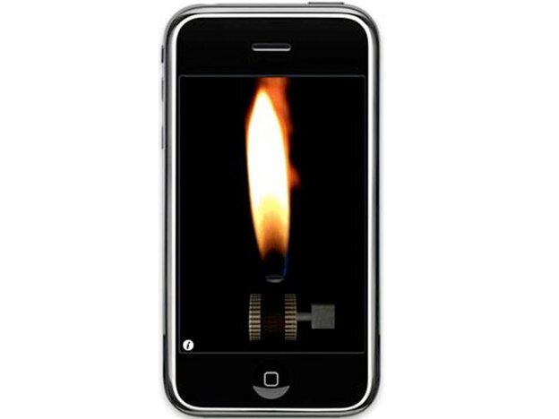 The iPhone lighter app.