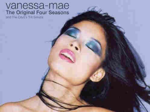 Vanessa-Mae's album cover for The Original Four Seasons