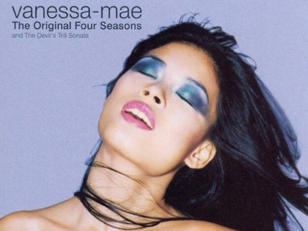 Vanessa-Mae's album cover for The Original Four Seasons