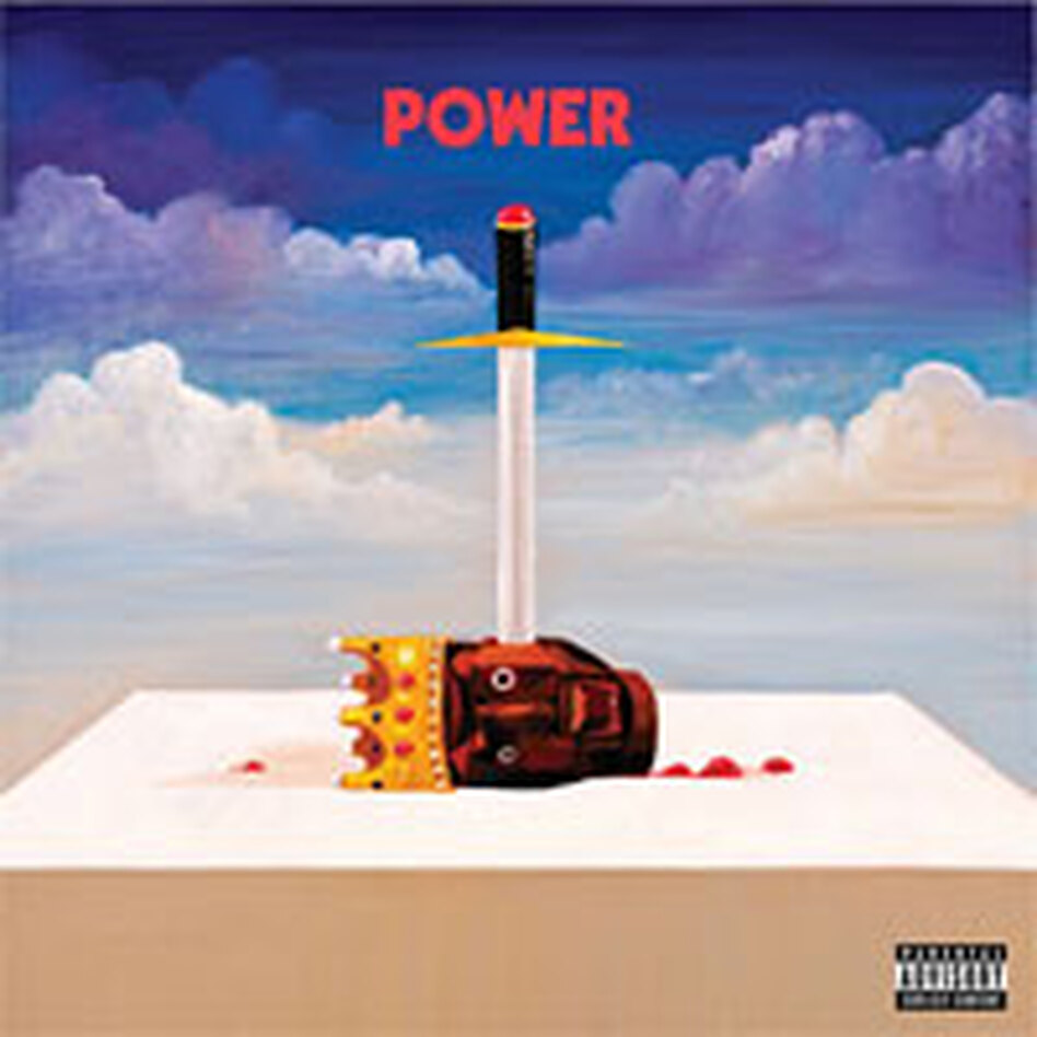 "The cover art for Kanye's single, ""Power""."