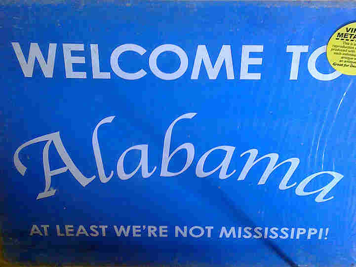 Welcome to Alabama; credit? Brian Metz/ flickr.com