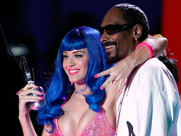 Katy Perry and Snoop Dogg