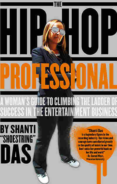 Shanti Das on the cover of her book, The Hip-Hop Professional