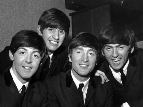 The Beatles. Enlarge Terry Disney/Express/Getty Images