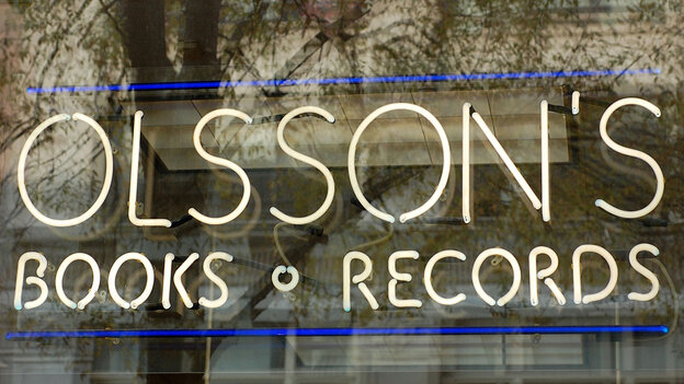 Olsson's Books and Records; credit: i_am_subverted / flickr.com