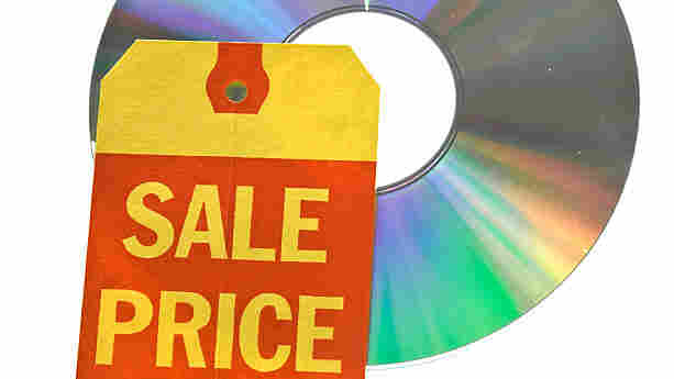 CD sale; credit: iStockphoto