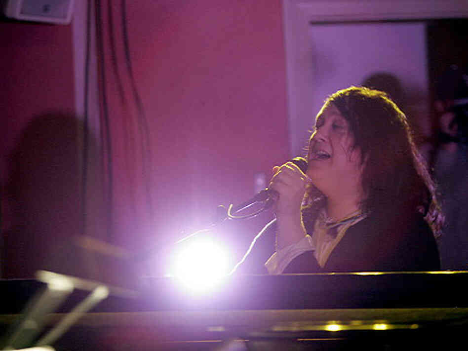 Antony and the Johnsons, performing live at the Sixth and I Synagogue in Washington, D.C.