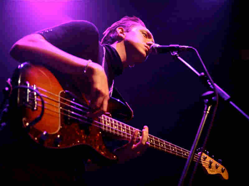 The xx performs at the 9:30 Club in Washington, D.C.