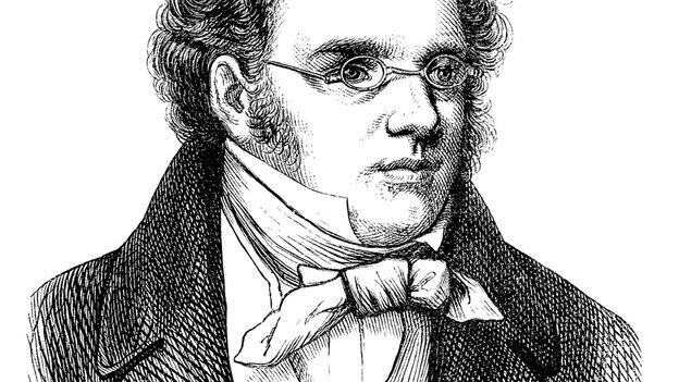 Franz Schubert engraving