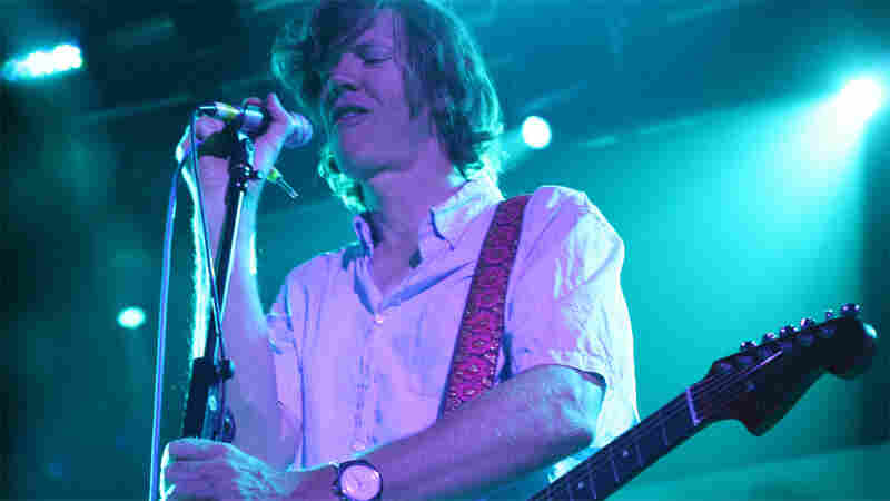 Thurston Moore of Sonic Youth performs at ATP 2010