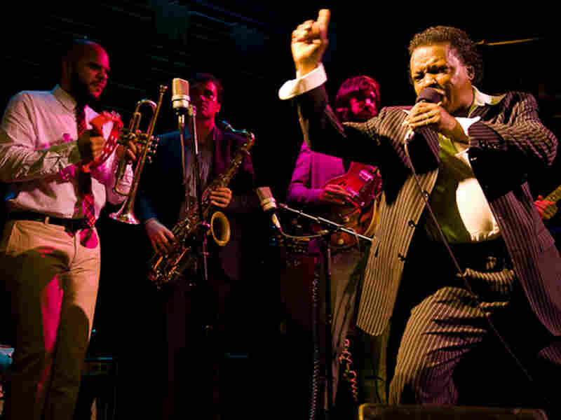 Lee Fields performs at Joe's Pub in New York City.