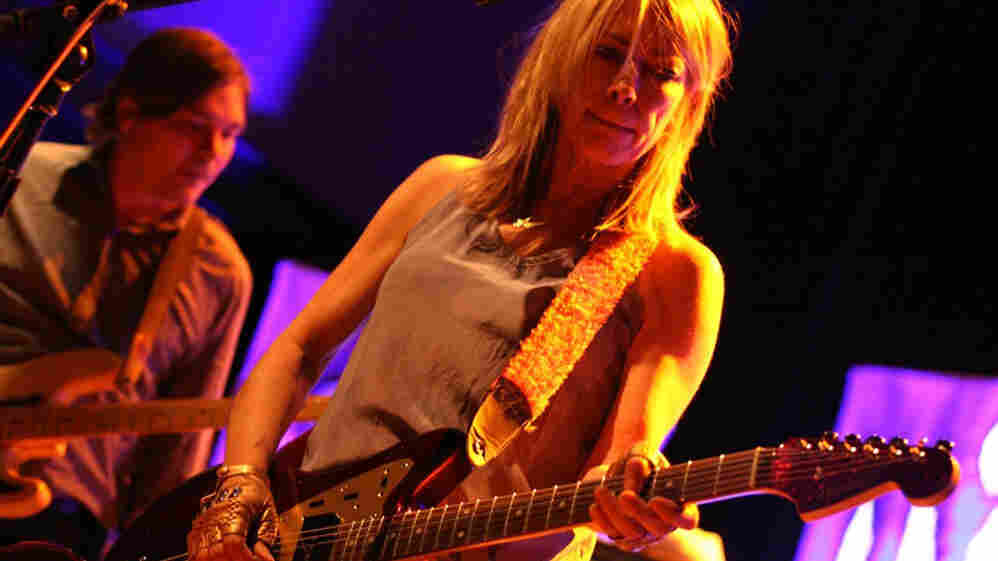Sonic Youth performs at the 9:30 Club.
