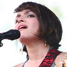 Norah Jones at Bonnaroo; credit: Shantel Mitchell