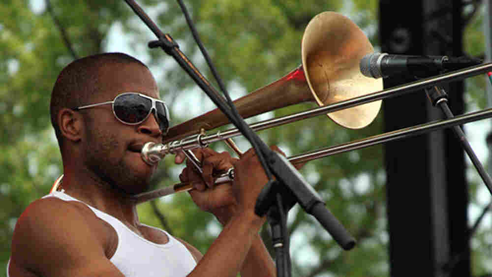 Trombone Shorty; credit: Laura Fedele