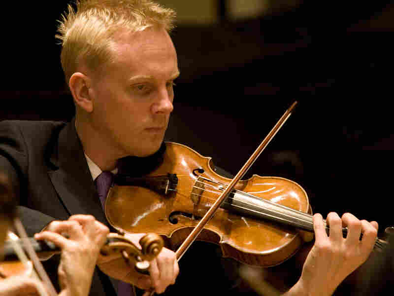 St. Paul Chamber Orchestra violinist Dale Barltrop