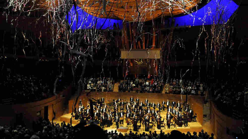 Disney Hall on opening night