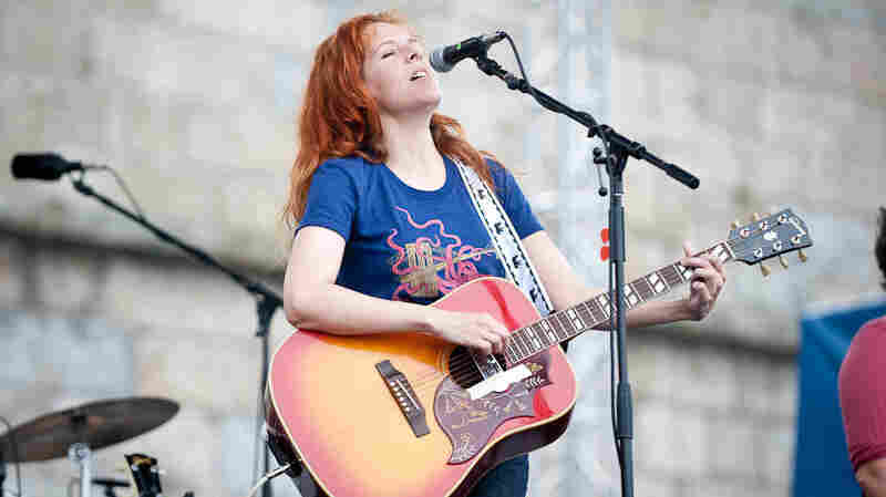 Neko Case at Newport Folk.