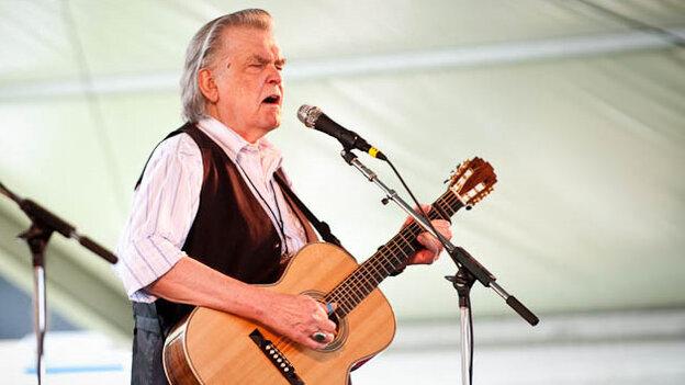 Guy Clark performs at Newport Folk.