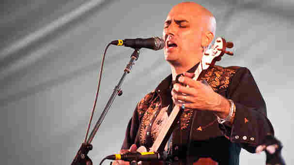 Tim Eriksen performs at Newport Folk.