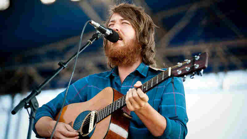 Fleet Foxes performs at Newport Folk Festival.