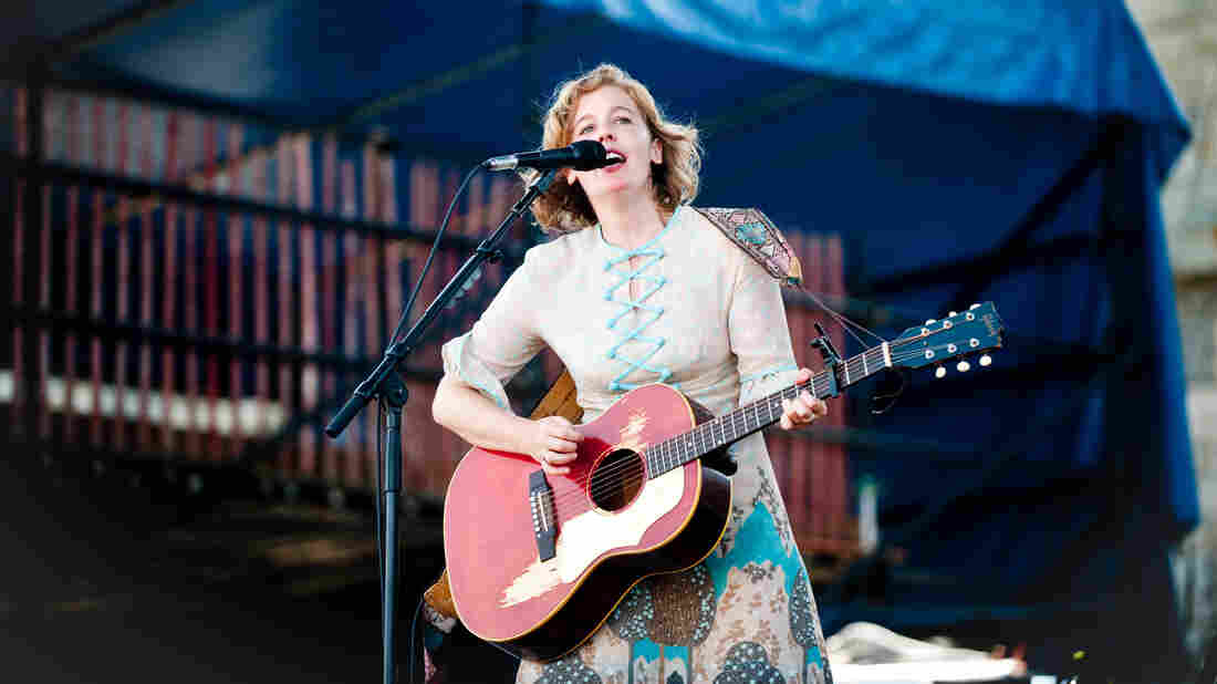 Tift Merritt performs at Newport Folk.