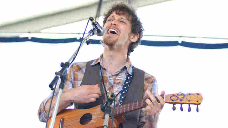 David Wax Museum performs at the 2010 Newport Folk Festival.