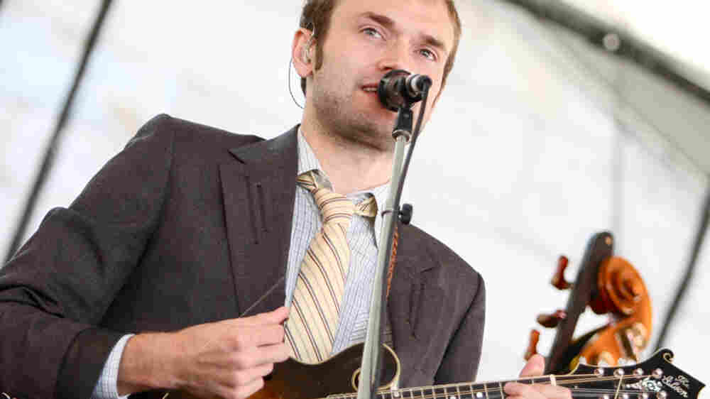 Punch Brothers perform at the 2010 Newport Folk Festival.