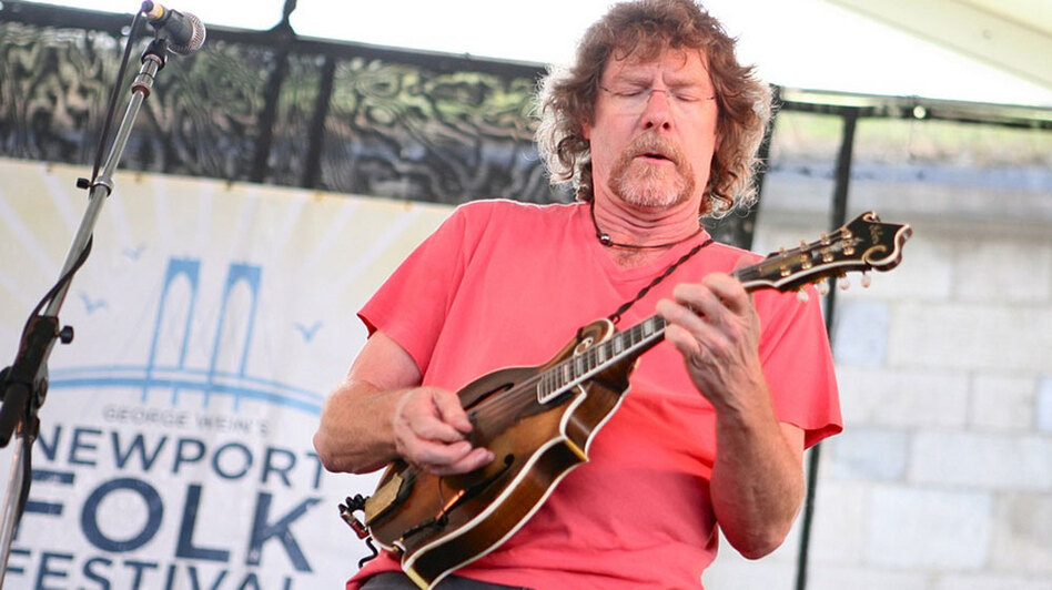 Sam Bush at the Newport Folk Festival