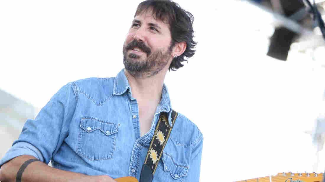 Tao Seeger performs at the 2010 Newport Folk Festival.