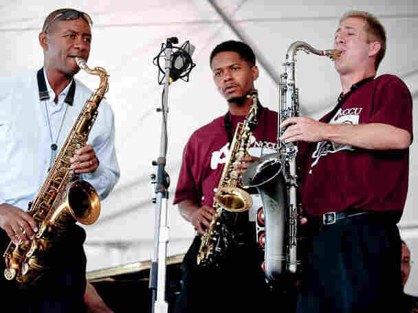 Branford Marsalis and NCCU.