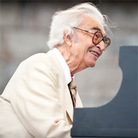 Dave Brubeck performs at Newport Jazz.