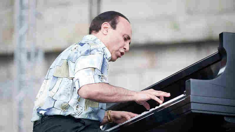 Michel Camilo performs at Newport Jazz.