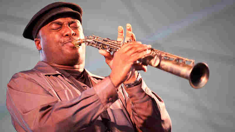 James Carter performs at Newport Jazz.