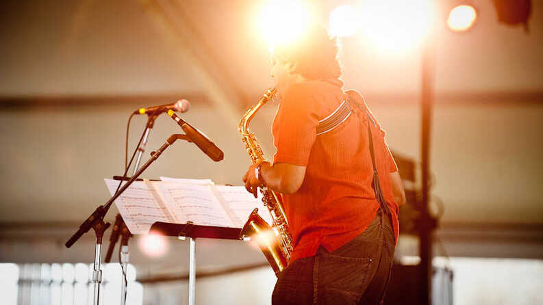 Rudresh Mahanthappa's Indo-Pak Coalition: Newport Jazz Festival 2009